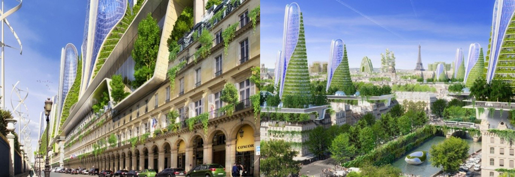 Проект «2050 Paris Smart City» (Vincent Callebaut Architectures) – Франция